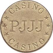 Jeton de jeu - Casino PJJJ (28.5 mm, Aluminium-bronze) – avers