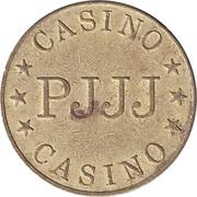 Jeton de jeu - Casino PJJJ (28.5 mm, Aluminium-bronze) – revers