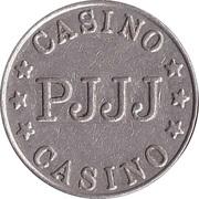 Jeton de jeu - Casino PJJJ (22 mm, Cupronickel) – avers