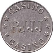 Jeton de jeu - Casino PJJJ (22 mm, Cupronickel) – revers