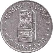 Jeton de jeu - Casino Zagreb – revers