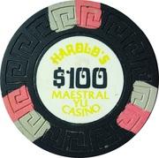 100 Dollars - Harold's Maestral Yu Casino (Miločer, Montenegro) – avers