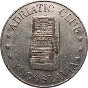 Jeton - Adriatic Club (Split) – avers