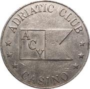 Jeton - Adriatic Club (Split) – revers