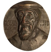 Médaille - Matthias Flacius – avers