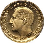 1 dukat - Aleksandar I – avers