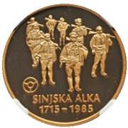 20000 Dinara - Sinjska Alka – revers