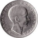 10 dinars (Royaume de Yougoslavie) – avers