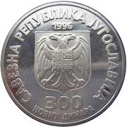 300 Novih Dinara Nikola Tesla -  avers