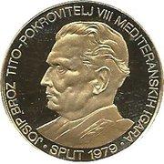 1500 Dinara (Jeux Méditerranéens Split 1979) – revers