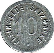 10 pfennig - Zabern (Saverne [67]) – revers