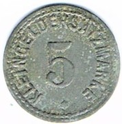 5 pfennig - Zabern (Saverne [67]) – revers