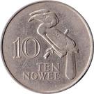 10 ngwee – revers