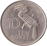 10 ngwee – revers