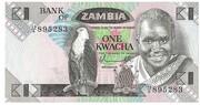 1 Kwacha – avers