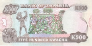 500 Kwacha – revers