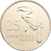 25 ngwee – revers