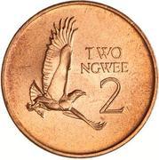 2 ngwee (bronze) – revers
