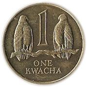 1 kwacha -  revers