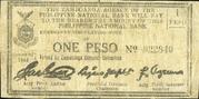 1 Peso (Zamboanga) – avers