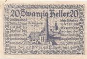 20 Heller (Zell an der Pram) -  avers