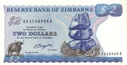 2 Dollars -  avers