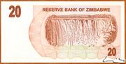 20 Dollars (Bearer Cheque) – revers