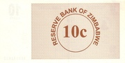 10 Cents (Bearer Cheque) – revers