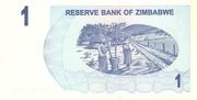 1 Dollar (Bearer Cheque) – revers