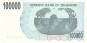 100 000 Dollars (Bearer Cheque) – revers