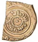 Fractional Dinar - Badis b. Habbus - 1038-1073 AD (Zirid of Granada) – avers