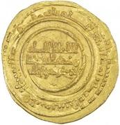 Dinar - al-Mu'izz b. Badis - 1016-1062 AD (North Africa) – avers