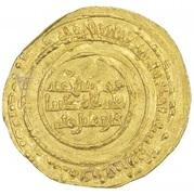 Dinar - al-Mu'izz b. Badis (North Africa) – revers