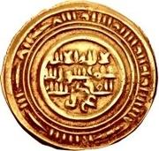 Dinar - al-Muzaffar ibn 'Ali – avers