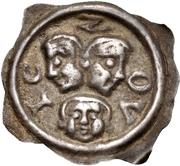 1 pfennig - Hartmann & Ludwig von Froburg – avers