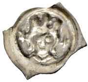 1 Pfennig - Rudolf I – revers