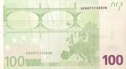 100 euros - Première série (2002-2019) – revers