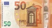50 euros (série Europa) – avers
