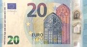 20 euros (série Europa) – avers