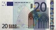 20 euros -  avers