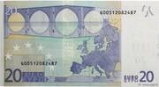 20 euros -  revers