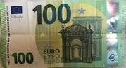 100 euros (série Europa) – avers