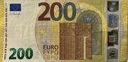 200 euros (série Europa) – avers