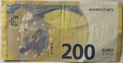 200 euros (série Europa) – revers