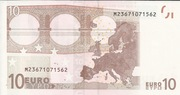 10 euros – revers