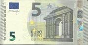 5 euros (série Europa) – avers