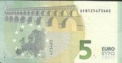 5 euros (série Europa) – revers