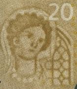 20 euros (série Europa) -  avers