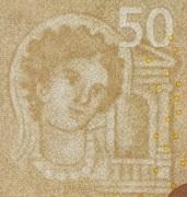 50 euros (série Europa) -  avers
