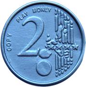 2 Euro (Play Money) – avers